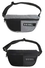 Under Armour Waist Cross Body Bags Messenger Gray Running Casual Bag 1330979-040