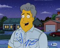 JAY LENO SIGNED AUTOGRAPHED 8x10 PHOTO FAMOUS COMEDIAN THE SIMPSONS BECKETT BAS