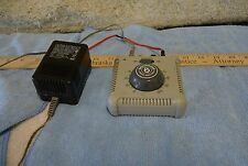 Bachman Speed Controller w/Power Supply & Red Track Wire 46605A 0704