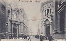 ARGENTINA - Buenos Aires - Bancos. - Piedad esq. Reconquista 1902