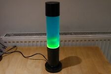 MATHMOS JET LAVA LAMP - BLUE LIQUID - GREEN WAX  - RETRO FUNKY LIGHT
