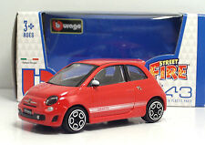 "Bburago 30000 ABARTH 500 ""Rossa""  + METAL Scala 1:43"