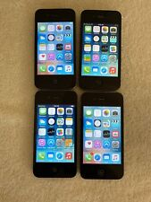 Lot of 4 Apple iPhone 4s A1387 8GB (AT&T) Smartphones