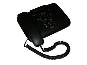 Gigaset DA810A Analog Telefon schwarz                                       **20