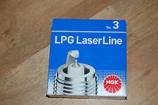 NGK Laser Linea, GPL, METANO, GAS Candele, No3, confezione da 4