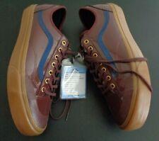 VANS Skate ALEX KNOST Chocolate Brown DECON Men's 12 Shoes NEW NO BOX Sample