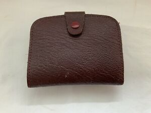 VINTAGE LEATHER MONEY/ COINS WALLET
