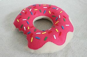 DOUGHNUT PILLOW CUSHION BIRTHDAY GIFTS FOR HIM FOR HER GIFT DONUT NOVELTY