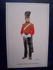 Military Uniform Postcard printed - Richmond Forresters Yeomanry
