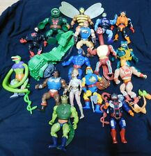Masters of the Universe He Man 23 Piece Lot Action Figures Accessories
