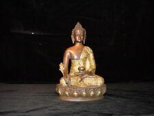 Medizinbuddha, nepalische Darstellung, Messingguss/Indien