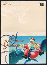 "Australia, 1995 ""Philatelic Group"" Christmas Card with CTO 45c Xmas stamp."