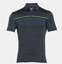 Nuevo Para Hombre Under Armour Músculo Camisa Polo Golf Pequeño Mediano Grande XL 2XL 3XL