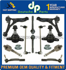 VOLVO XC90 Front Control Arm Arms Ball Joint Tie Rod Inner Outer Suspension Kit