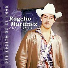 Que Bonito Es el Amor by Rogelio Mart¡nez (CD, Mar-2002, Sony Discos Inc.)