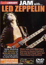 Lick Library Learn To Play Jam Con Led Zeppelin Whole Lotta Love Guitar Dvd