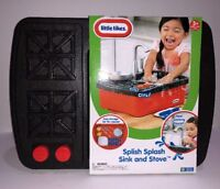 NEW LITTLE TIKES Kids Splish Splash Sink Stove Real Running Water Limited