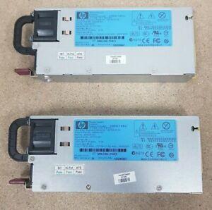 Job Lot Of 2x HP 499249-001/499250 460 Watt 12 Volt Server Power Supply PSU33/35