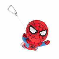 Marvel Spider-Man Kawaii Art Collection Skyfall Swing Carabiner Plush Toy