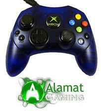 Genuine Microsoft Original Xbox Limited Edition Clear Blue Controller  (Xbox)
