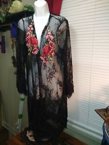 Lace Duster Size Large