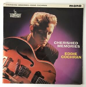 "EDDIE COCHRAN - 1962 - ""CHERISHED MEMORIES"" - Liberty - LBY1109 - *EX/EX*"