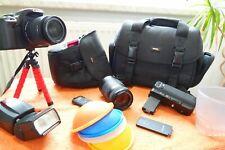 Canon EOS 500d l XXL set muchas cosas nuevo l DSLR espejo reflex cámara 15mp video FHD