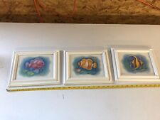 Tropical Fish Framed Pictures