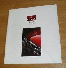 Rover 400 Brochure 1993 - 414Si 414 SLi 416 Si 416 SLi 418 SD 420 GSI Turbo