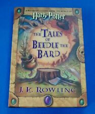 HARRY POTTER, THE TALES OF BEEDLE THE BARD, J. K. ROWLING, HARDCOVER BOOK