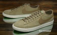 Nike Blazer Low Khaki Fresh Mint 371760-208 Skate Shoes Men's Multi Size