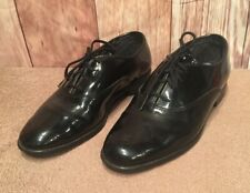 Gently Used Men's Barclay Formal Black Patent Leather Shoes Wedding Prom