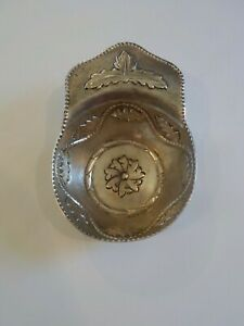 19th Century Continental Silver Hand Crafted Cup / Dish