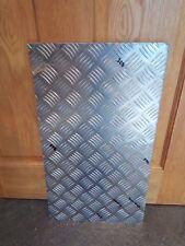 3mm Thick Aluminium Chequer Plate 5 Bar Tread Sheet Material Kick Plate