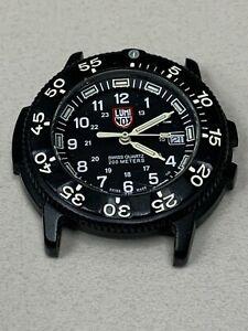 LUMINOX Series 3000/3900 V3 Watch Black Dial Black Bezel Parts Non Running #501