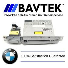 BMW E65 E66 745i 750i 760i ASK Unit CD Player Radio Channel Repair Service L7