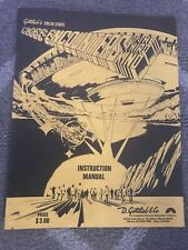 Original Gottlieb Close Encounters Of The Third Kind Pinball Manual