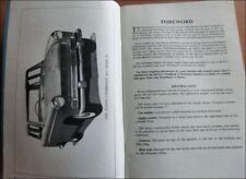 Betriebsanleitung Driver's Handbook Austin A55 Cambridge Mark II 1959 englisch
