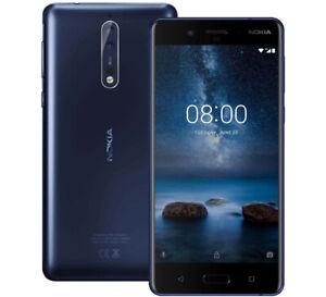 "NOKIA 8 TA-1004/1012 4gb 64gb Octa-Core 13mp Fingerprint 5.3"" Android Smartphone"