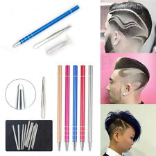 Pro Razor Pen Hair Beard Styling Eyebrow Design Engrave Shaver Barber Blade Set
