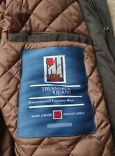 Trussardi Jeans men's traveller's man parka - Hooded, soft touch shell, Padded