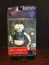Rudolph And The Island Of Misfit Toys Sam The Snowman Action Figure 2001