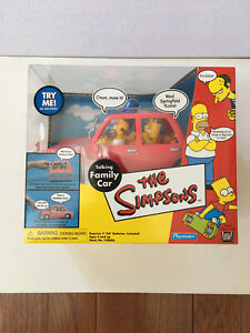 The Simpsons Talking Family Car by Playmates Still Talking 2001 Sealed Clean Box