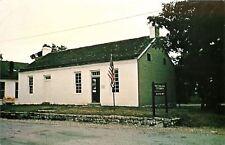 Georgetown OH~President Grant 2-Room Schoolhouse~See-Thru Windows 1970s