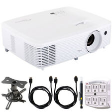 Optoma HD29Darbee HD DLP Home Theater Projector Bundle