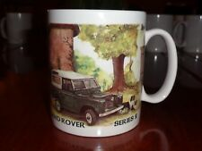 Norfolk China Ceramic Mug LAND ROVER SERIES 2 LONG WHEELBASE