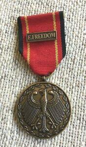 German Bundeswehr Foreign Service Deployment Medal Enduring Freedom Afghanistan