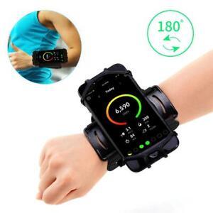 """Soporte para teléfono de pulsera Universal, banda para el brazo 4 """"-6,5"""" 180 °"""