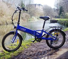 "Folding Electric Bike 36v 9ah Hidden Battery eBike  Compact 20"" Wheel - SALE"