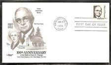 US SC # 1862 Harry S Truman FDC. Artmaster cachet